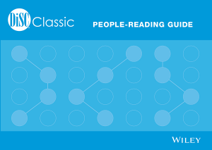 DiSC® Classic People-Reading Guide: Folded Version