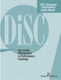 DiSC® Managing Performance Action Planner Paper or Online Version