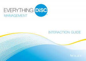 Everything DiSC Management Interaction Guide
