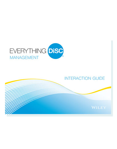 Everything DiSC Interaction Guides