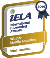 "Leadership Essentials win an ""International e-learning award"""