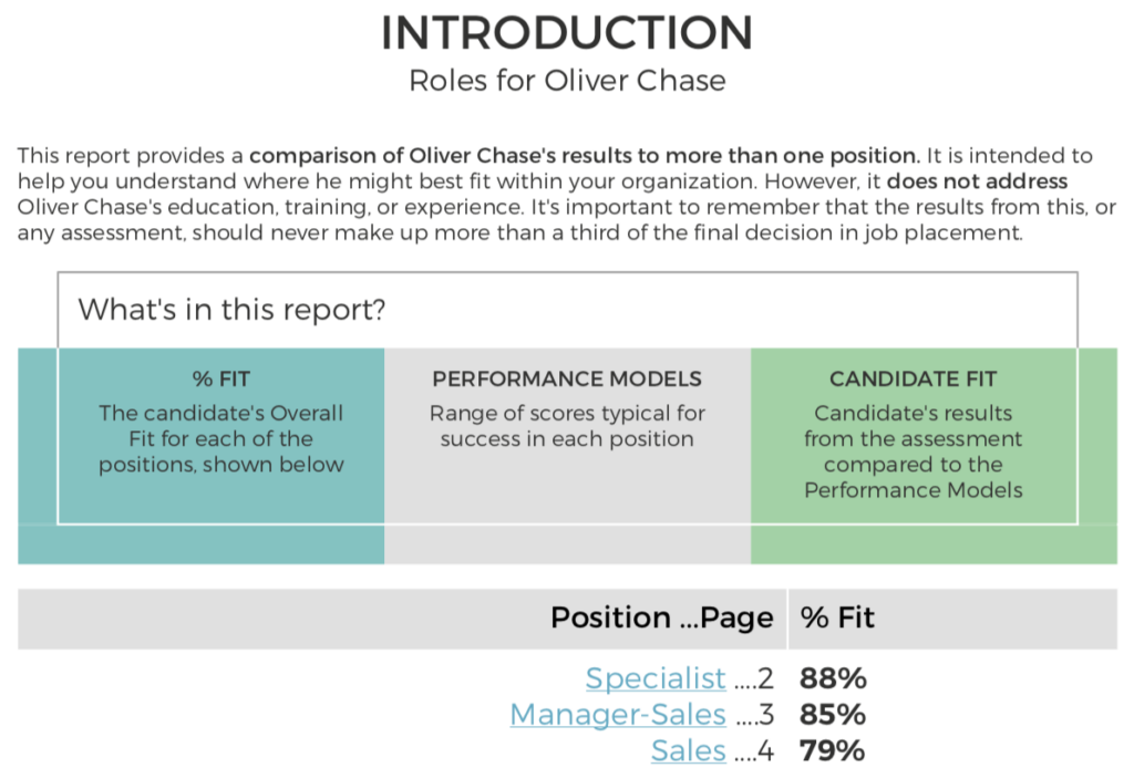 PXT Select - Multiple Positions