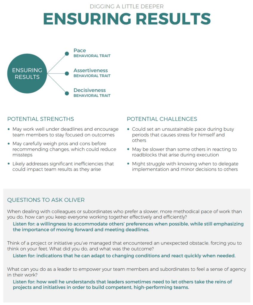PXT Select hiring for leadership-management