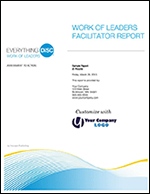 Everything DiSC Work of Leaders Facilitator Report